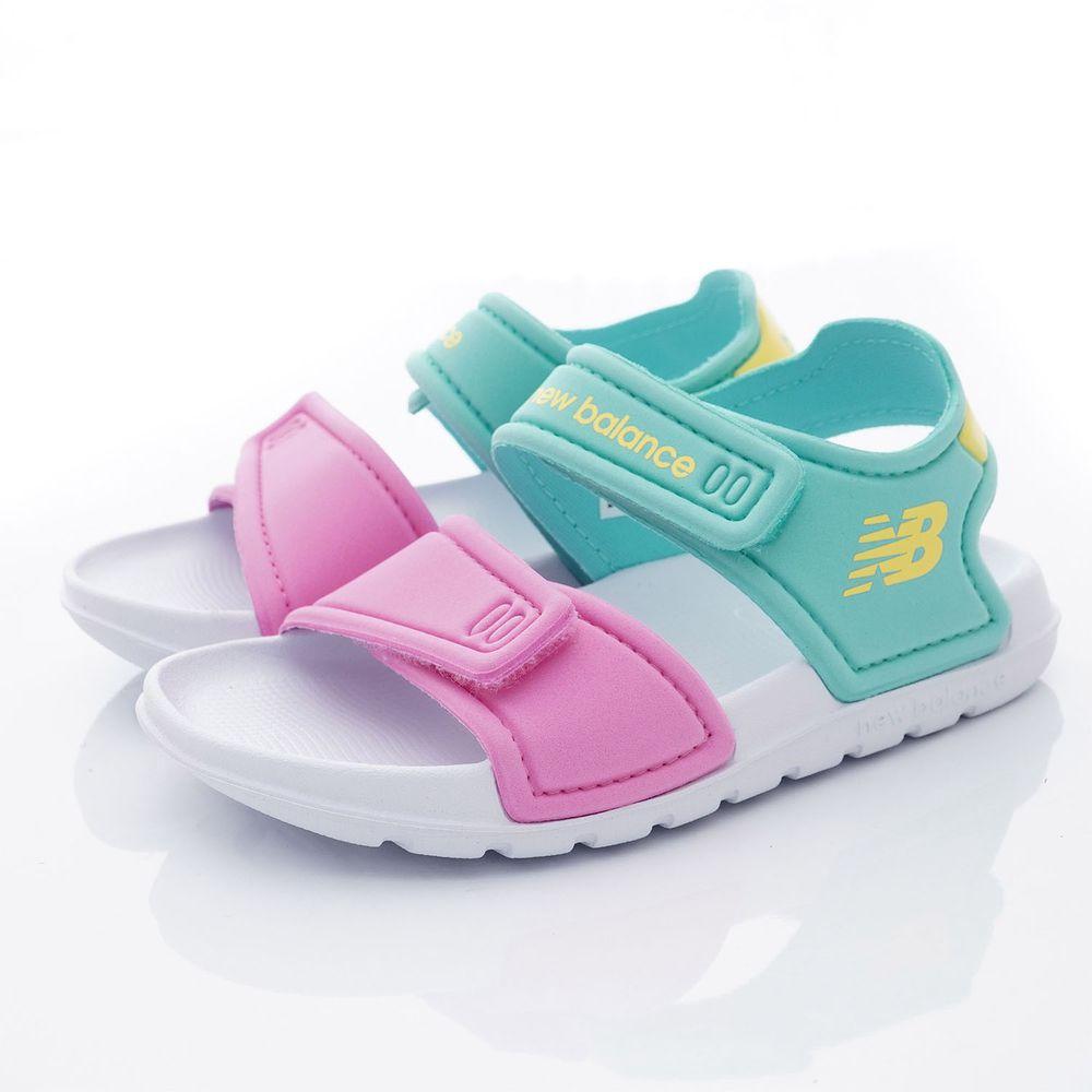 New Balance - NB超輕馬卡龍涼鞋款(小童段)-糖果粉紅/淺綠