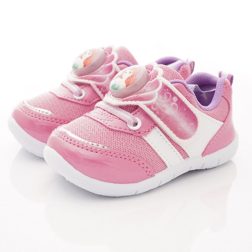 Disney - 冰雪奇緣童鞋-冰雪LED電燈運動鞋款(中小童段)-粉