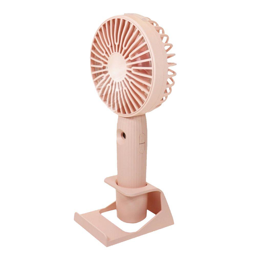 小企家 - 水噹噹補水保濕涼風扇-粉紅色