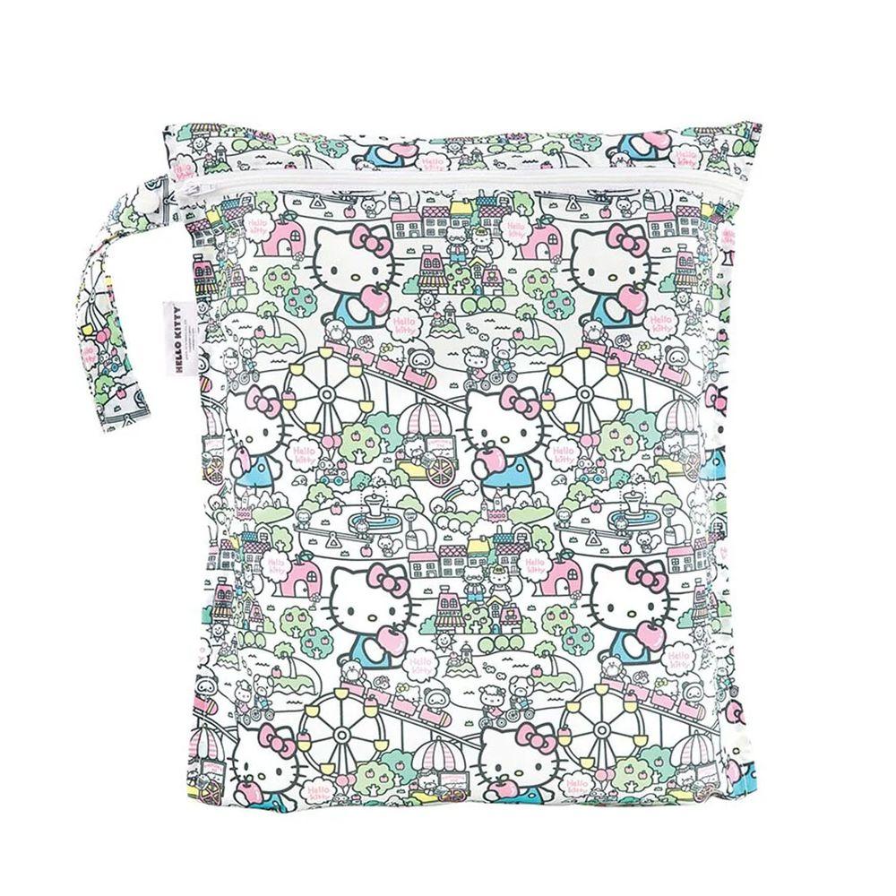 美國 Bumkins - 防水收納袋-Hello Kitty