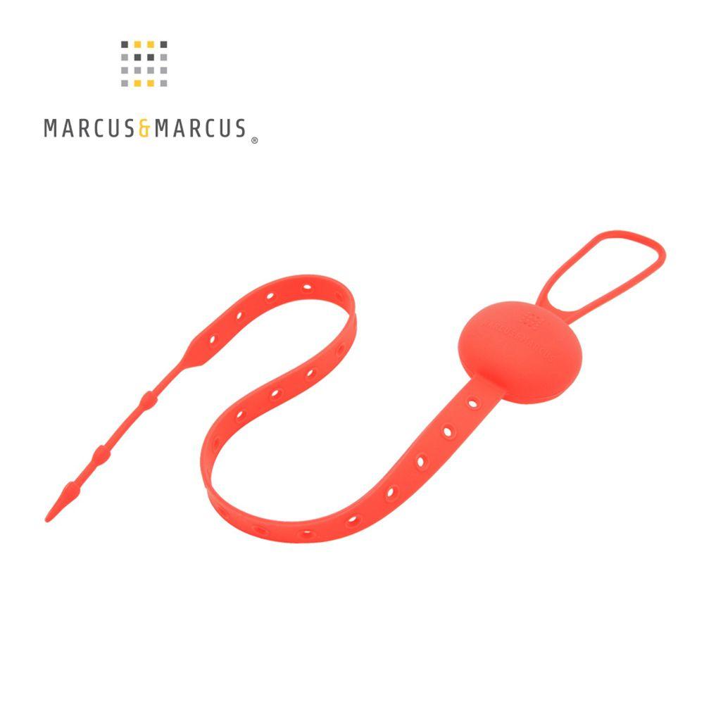 MARCUS&MARCUS - 多用途可調收納防掉帶-紅色