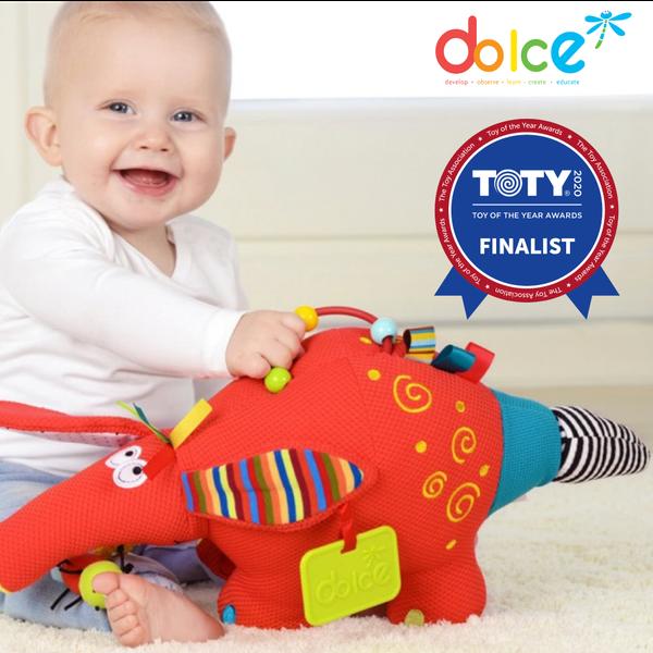 寶寶感官發展一隻搞定【法國Dolce Toys】感統娃娃