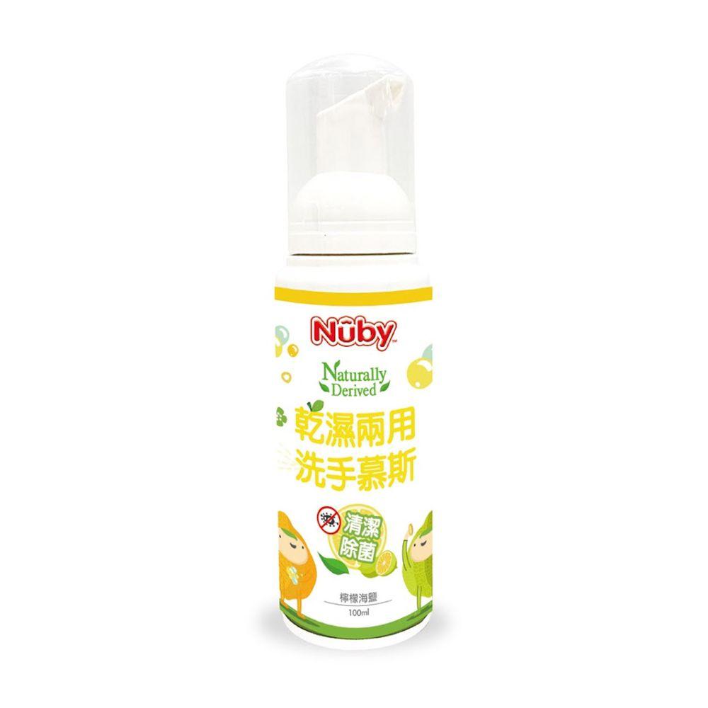 Nuby - 乾濕兩用洗手慕斯-檸檬海鹽-100ml
