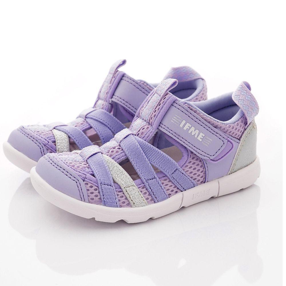 IFME - 護趾水涼雙色機能童鞋-小童段-紫