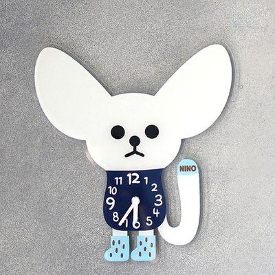 韓國NINO HapPy TimE童趣時鐘-沙漠大耳狐 (29*31.5cm)