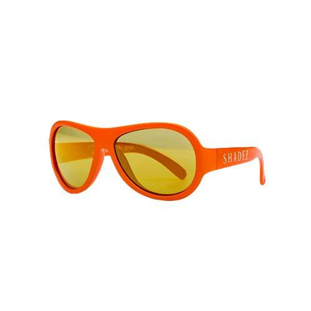 SHADEZ - 可彎折嬰幼兒時尚太陽眼鏡-活力橘