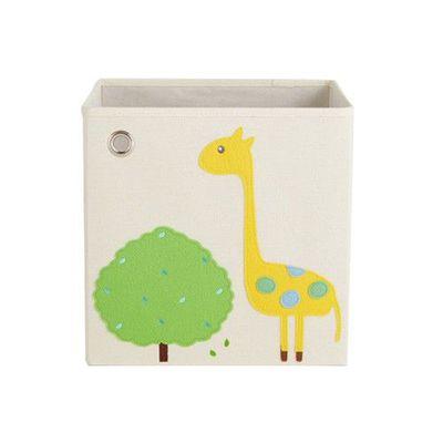 玩具收納箱-萌萌長頸鹿 (33x33x33cm)