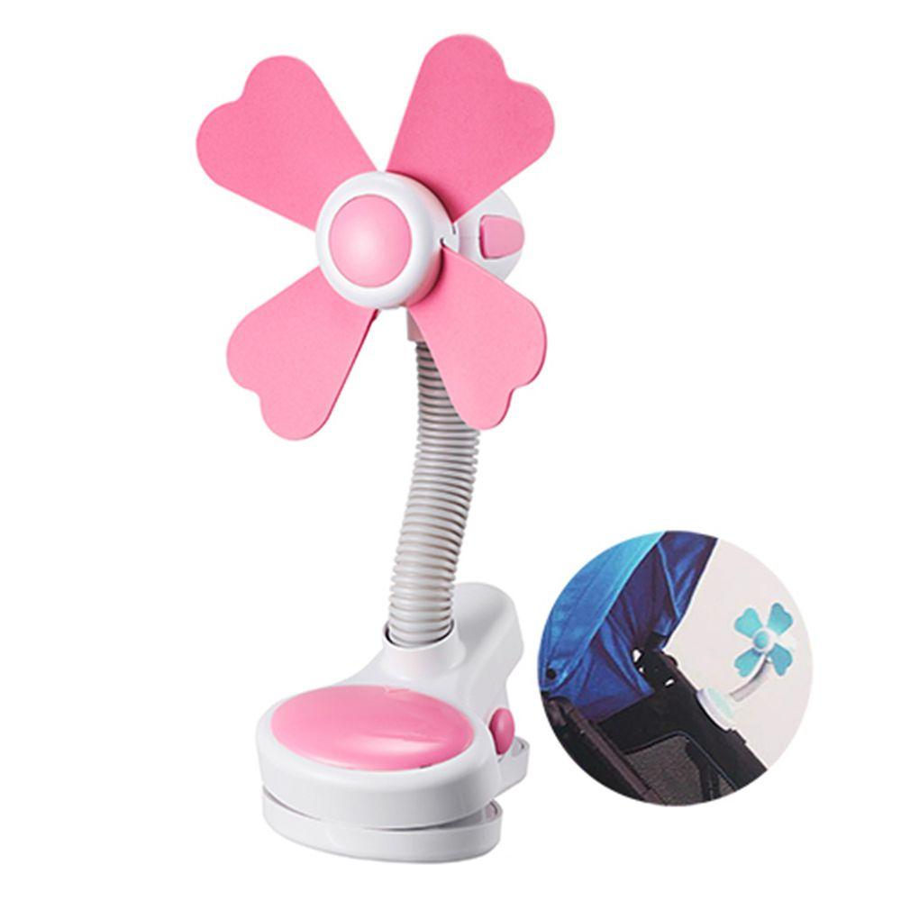 娃娃城 BabyCity - 多功能夾式涼風扇-粉-粉色 (110*140*225)
