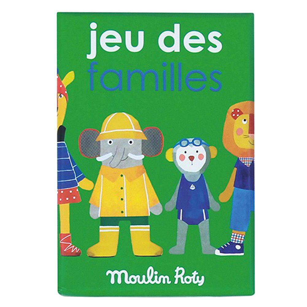 Moulin Roty - 記憶遊戲-動物家族