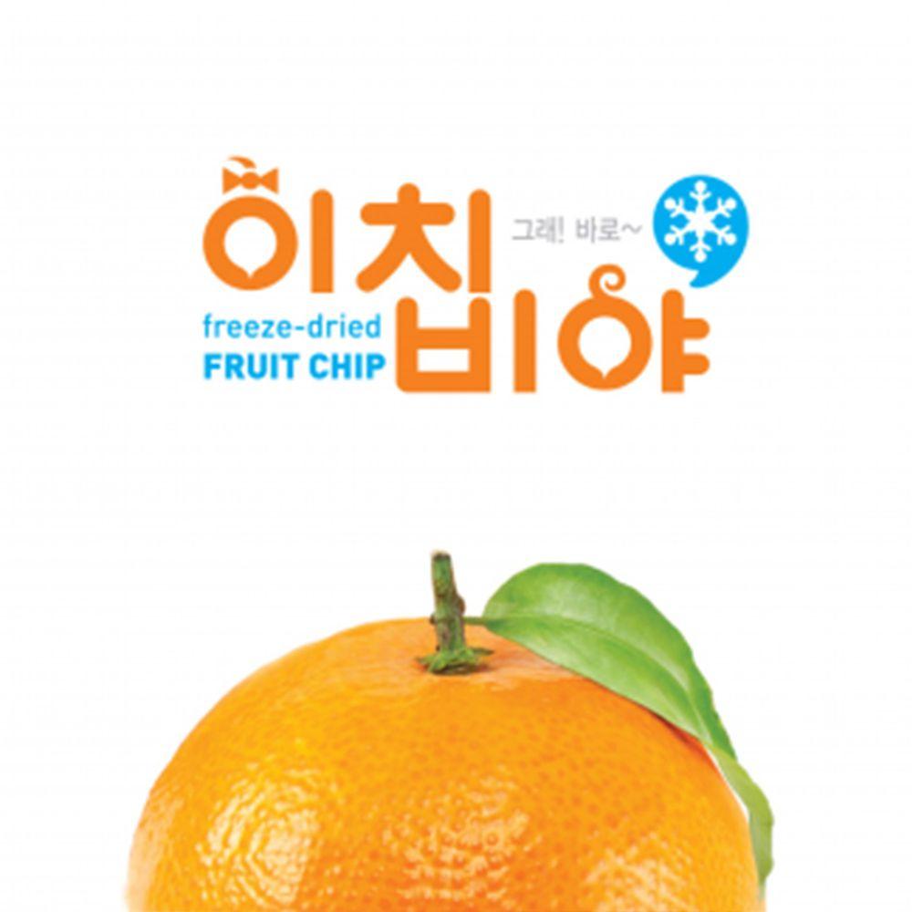 Ichibiya - 韓國幼兒水果乾-橘子-20g