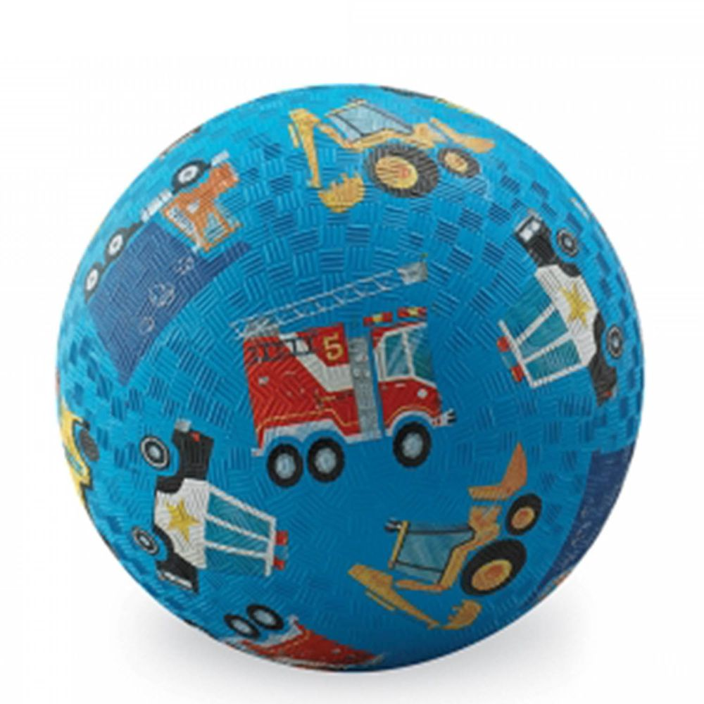 "Crocodile Creek - 7""兒童運動遊戲球-交通工具"