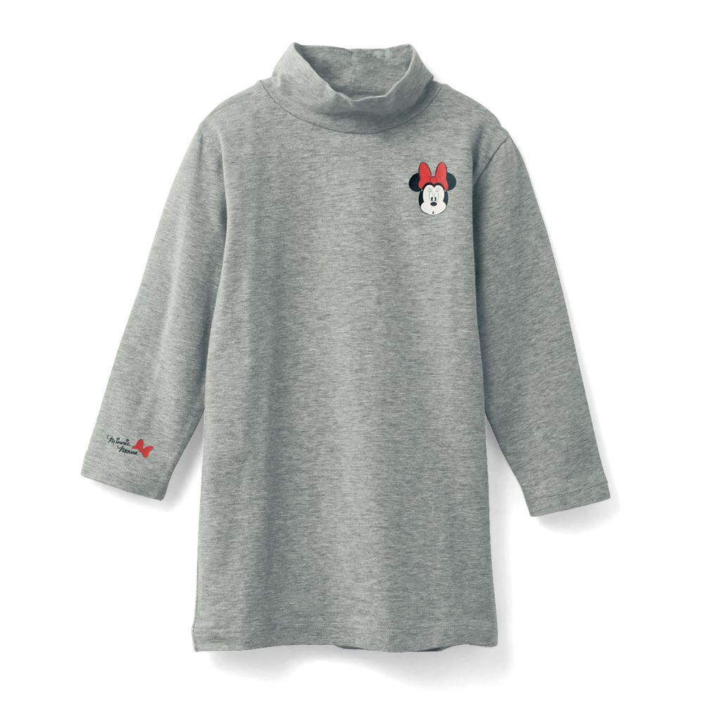 日本千趣會 - 95%棉 (兒童) 迪士尼發熱衣-米妮-灰