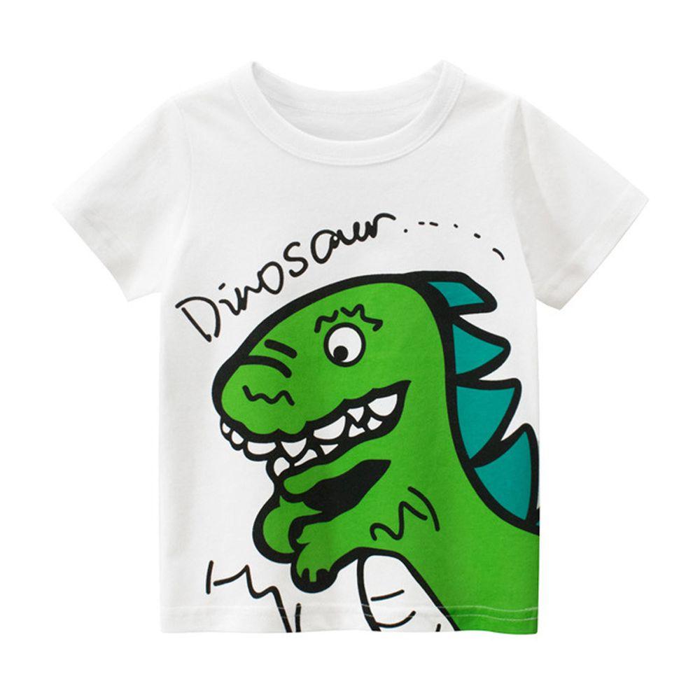 拍手恐龍短袖棉T