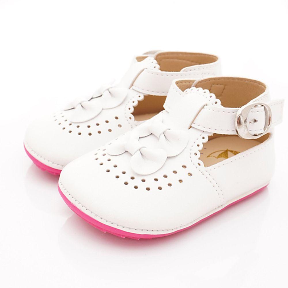 Arnold Palmer 雨傘牌 - 專櫃童鞋-氣質軟軟學步鞋款(寶寶段)-白