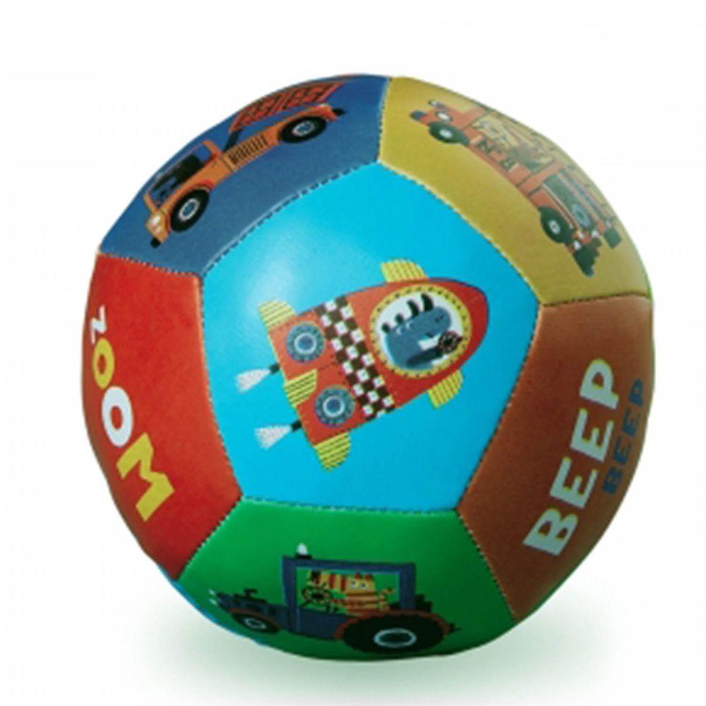"""Crocodile Creek - 5""""寶寶感統遊戲皮球-交通世界"""