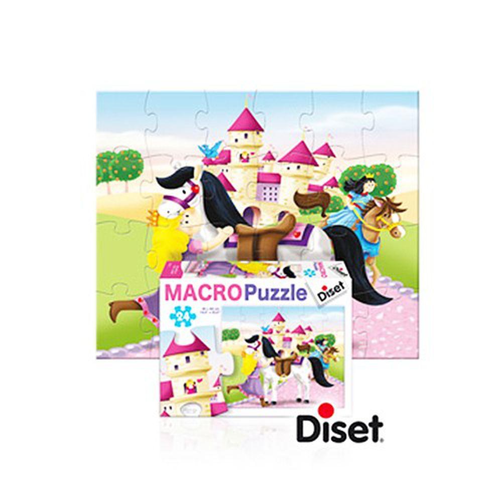 西班牙 Diset - 24pcs公主大拼圖-3 years