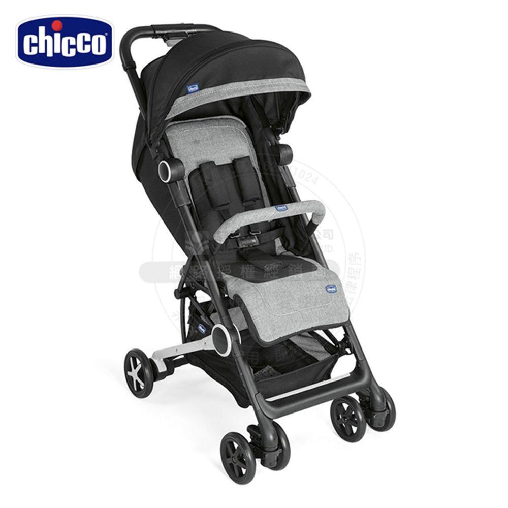 義大利 chicco - Miinimo2輕量摺疊手推車-爵色黑