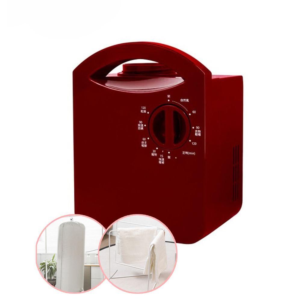KOM - 四季多功能烘暖機+配件組-紅色