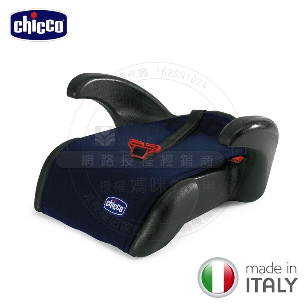 義大利 chicco - Quasar Plus汽車輔助增高座墊-星辰藍