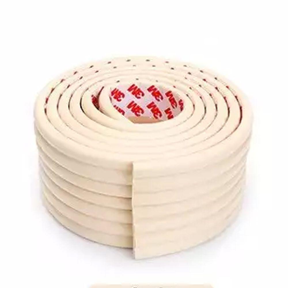 多功能自黏加厚加寬防撞條-2公尺*1入-白色-送自黏加厚防撞角4入