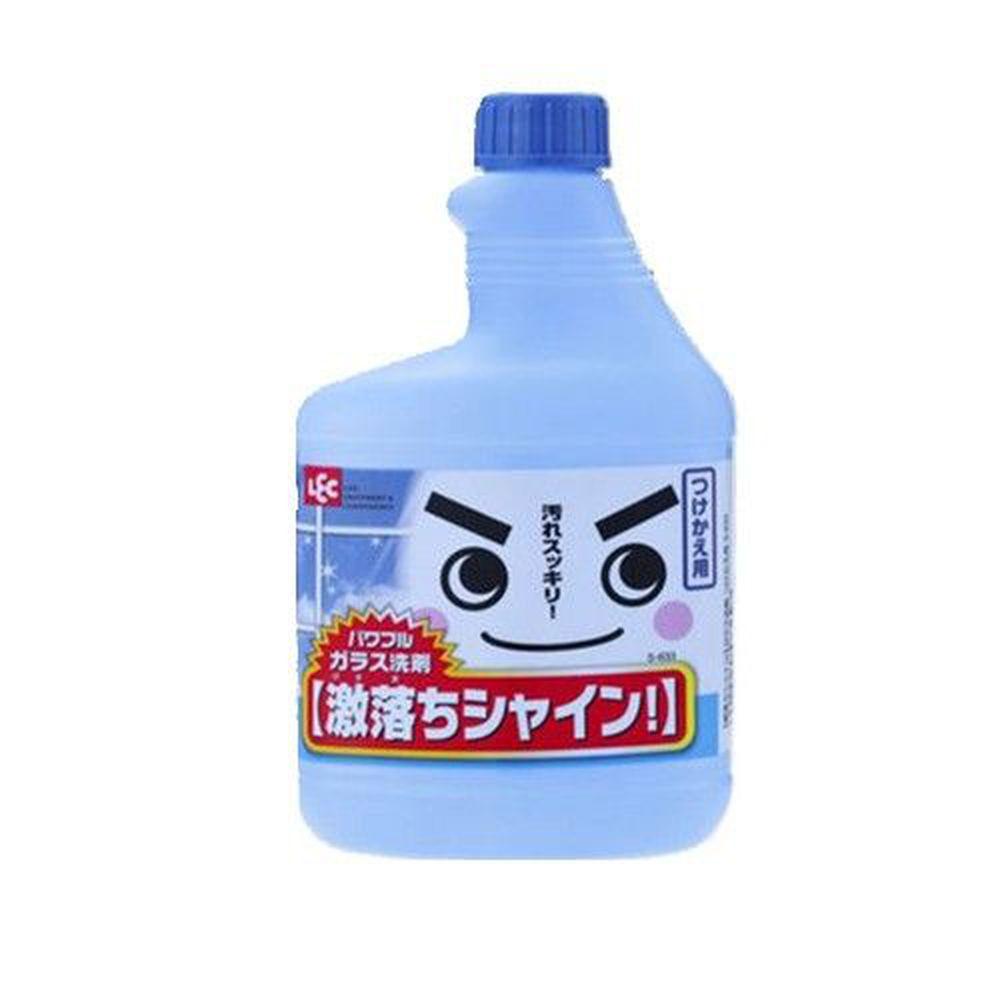 日本 LEC - 激落清潔劑- 玻璃用-補充瓶 520ml