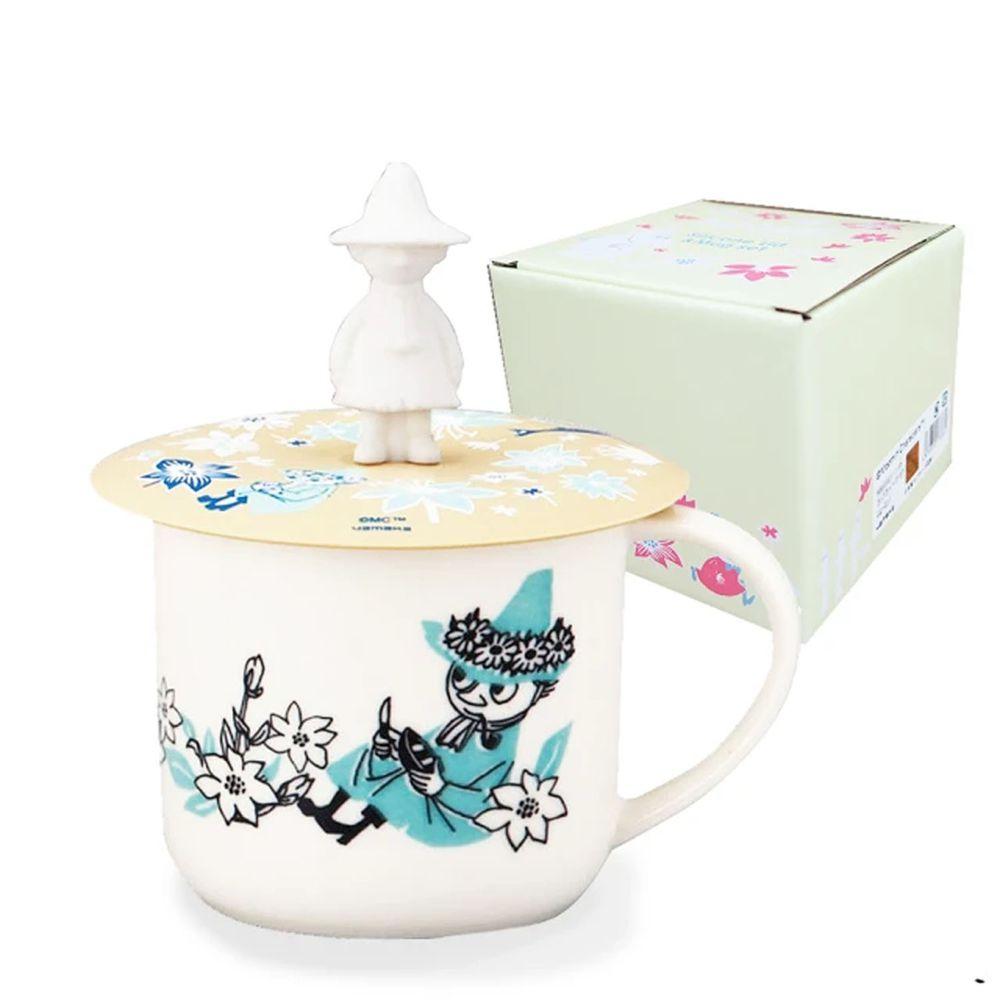 日本山加 yamaka - moomin 嚕嚕米彩繪陶瓷馬克杯禮盒-阿金-MM3003-11P