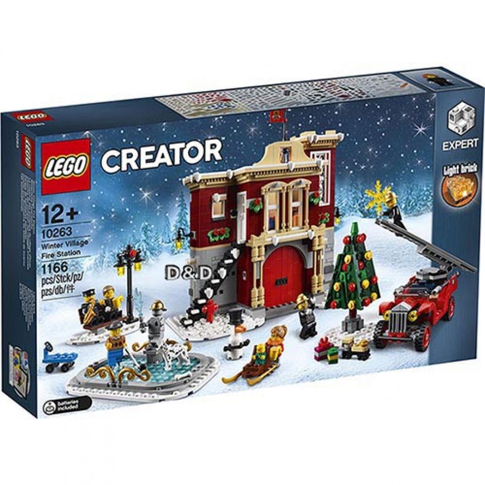 樂高 LEGO - 樂高 Creator 創意大師特別版系列 - 冬季村消防局 10263-1166pcs