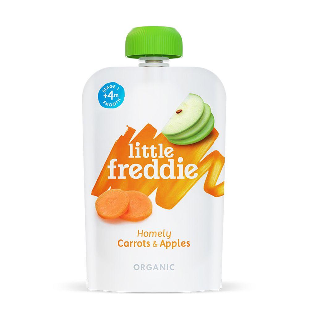 little freddie - 小皮蘋果紅蘿蔔泥-4個月食用