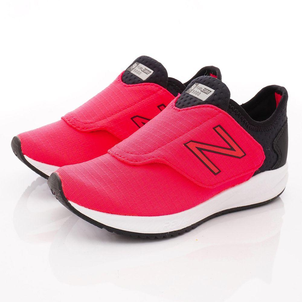 New Balance - New Balance慢跑鞋-大絆帶輕量款(中童段)-桃