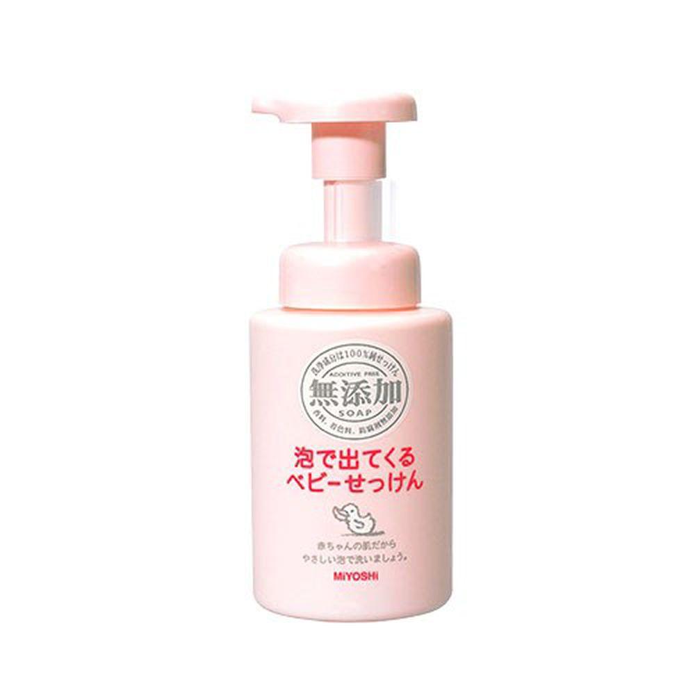 日本 MIYOSHI 無添加 - 嬰兒泡沫沐浴乳-250ml