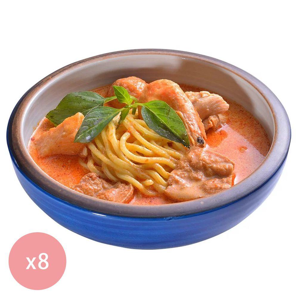 【國宴主廚温國智】 - 冷凍叻沙勁麵700g x8包