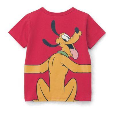 布魯托抱抱純棉短袖T恤-紅色 (120)