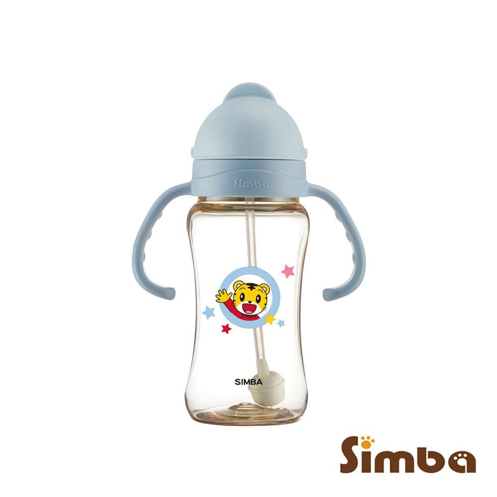 Simba 小獅王辛巴 - 巧虎PPSU自動把手滑蓋杯-藍色-270ml