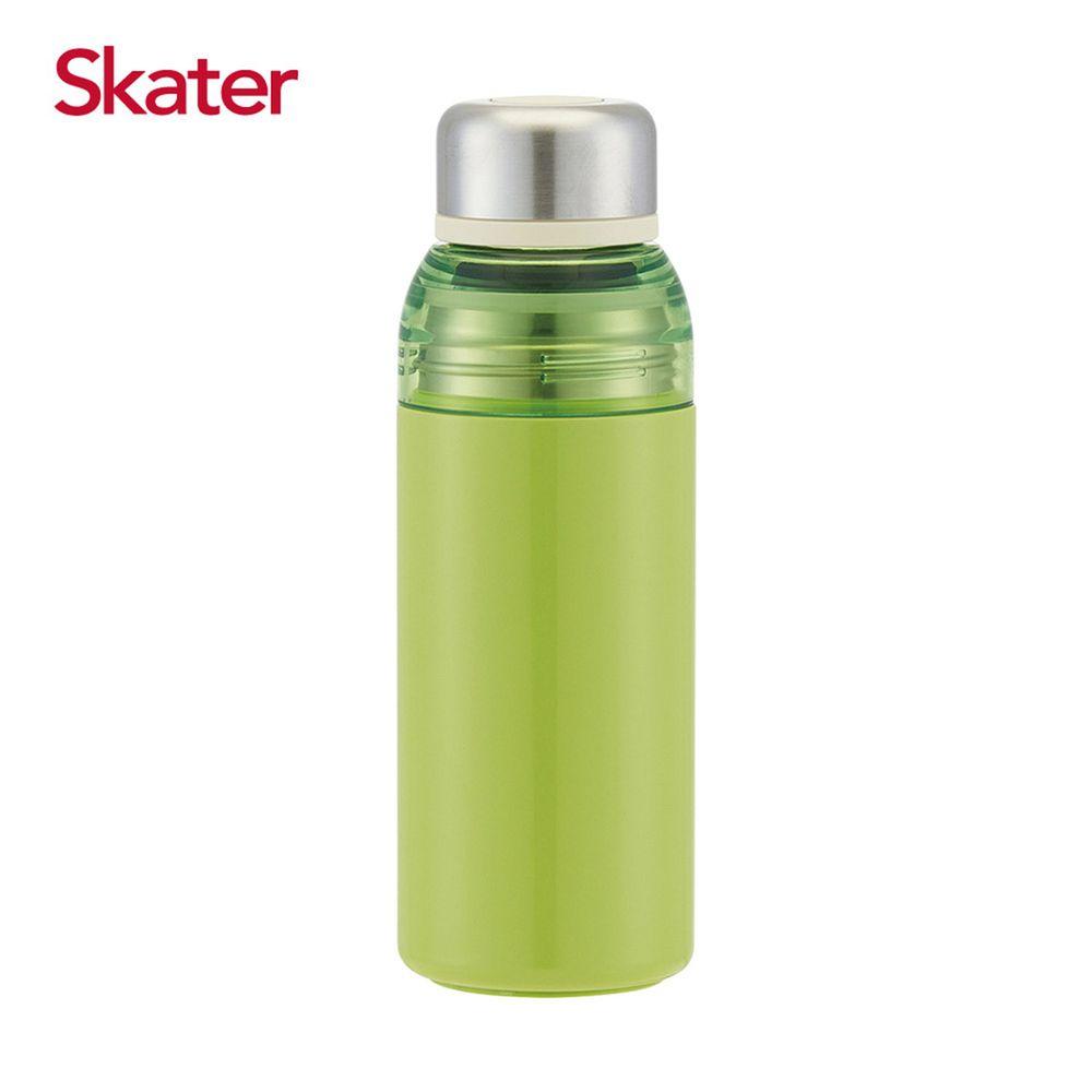 日本 SKATER - 雙開口不鏽鋼真空瓶(400ml)-酪梨