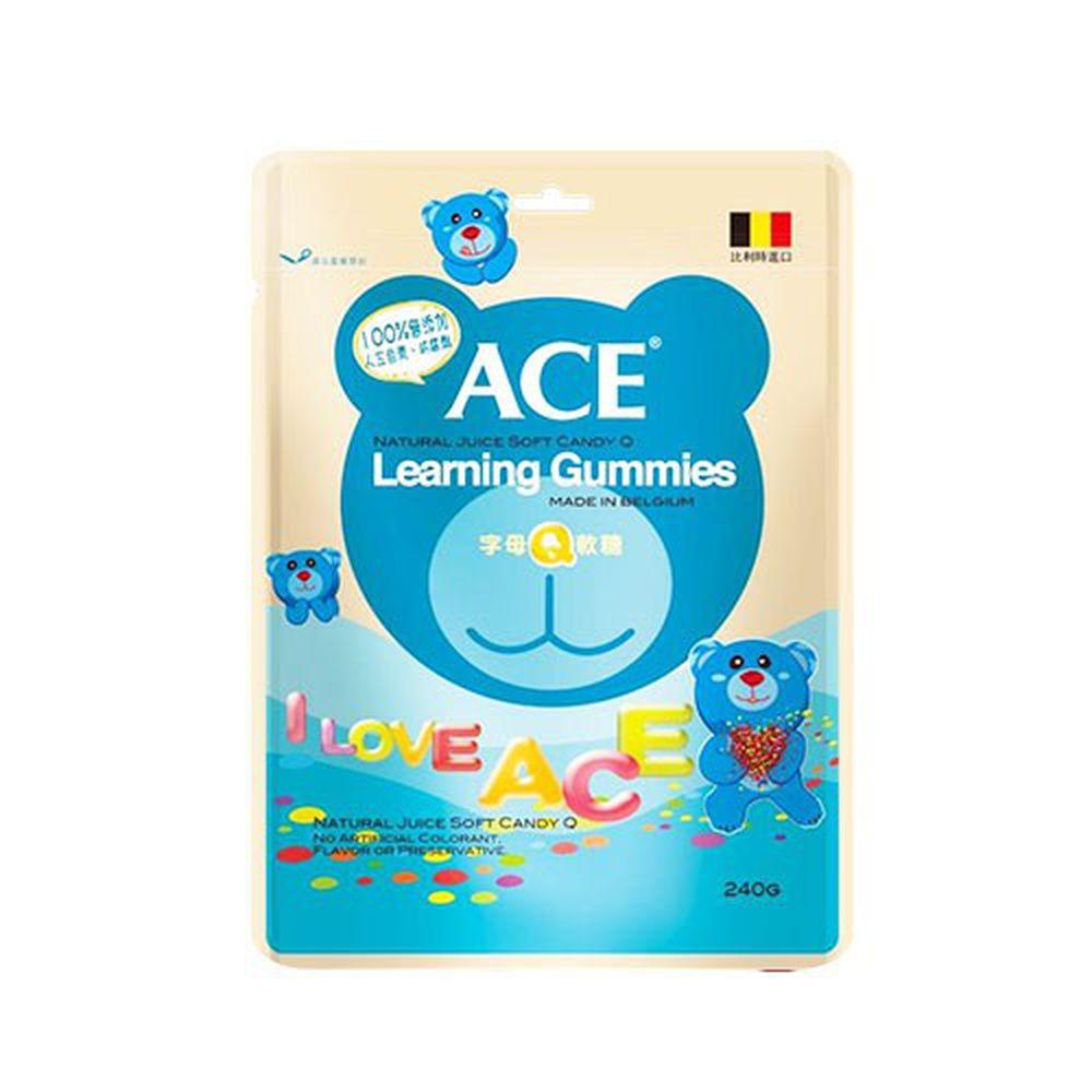 ACE - 字母Q軟糖-240g/袋