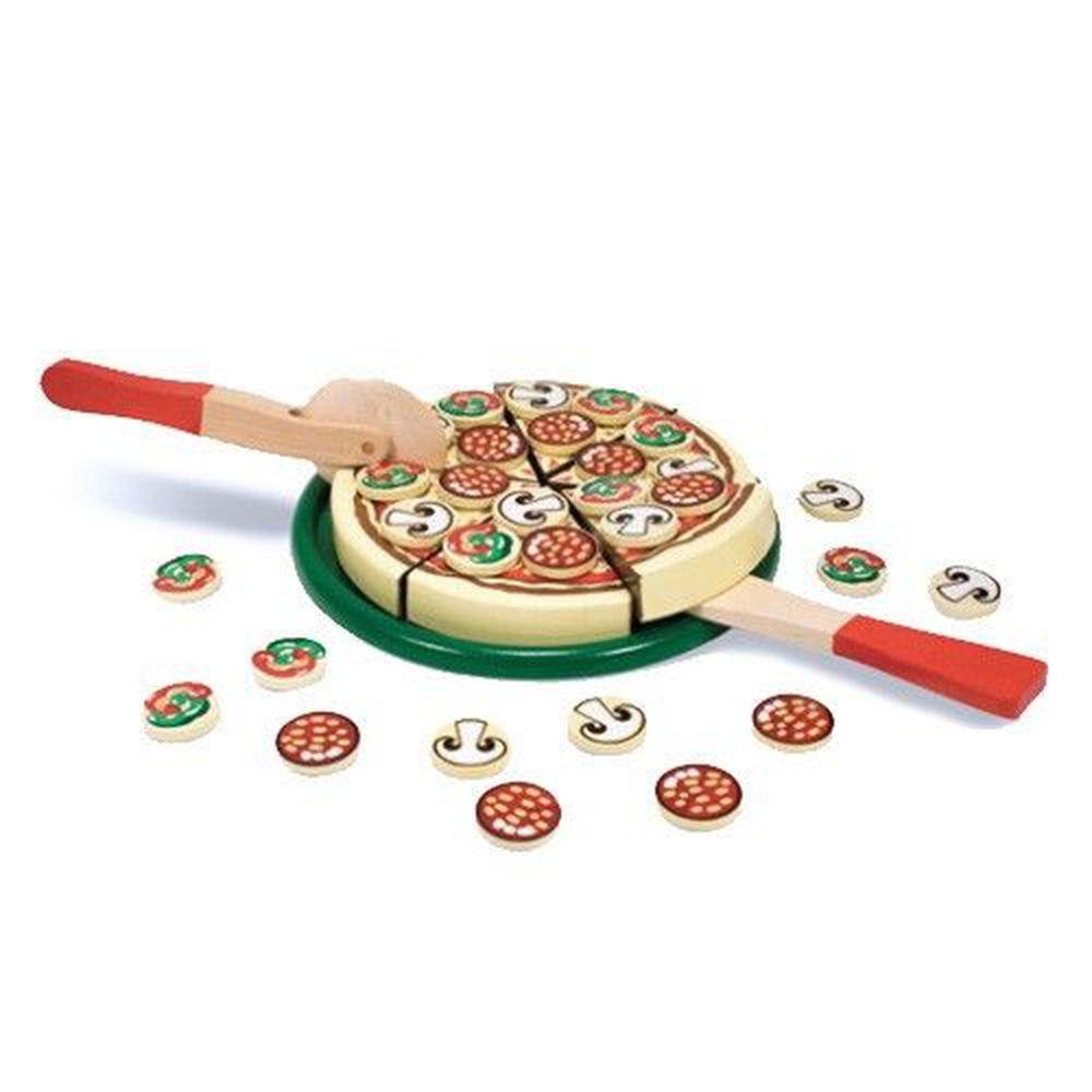 美國瑪莉莎 Melissa & Doug - MD 玩食趣-Pizza 比薩派對