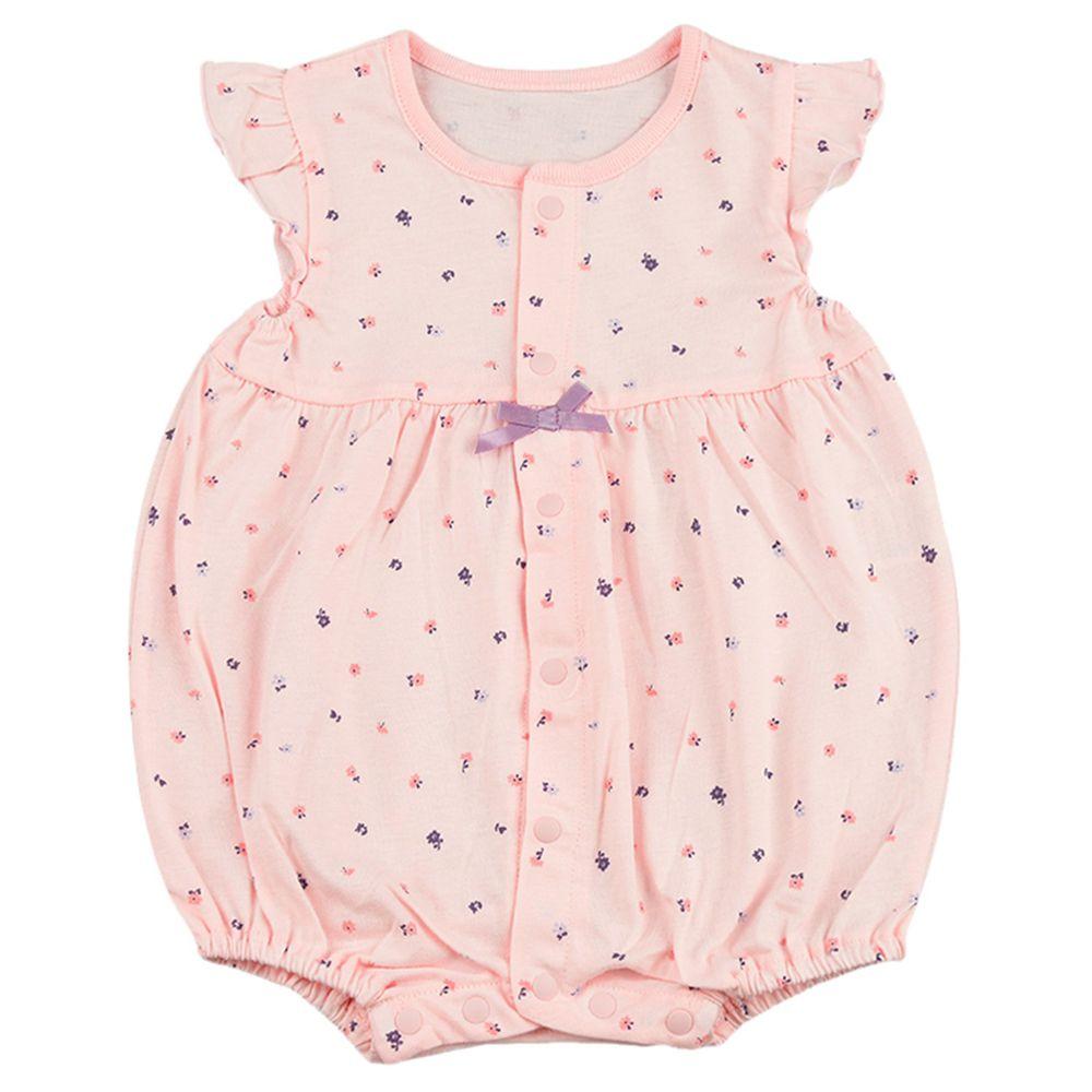 akachan honpo - 女短袖兔裝-粉紅色