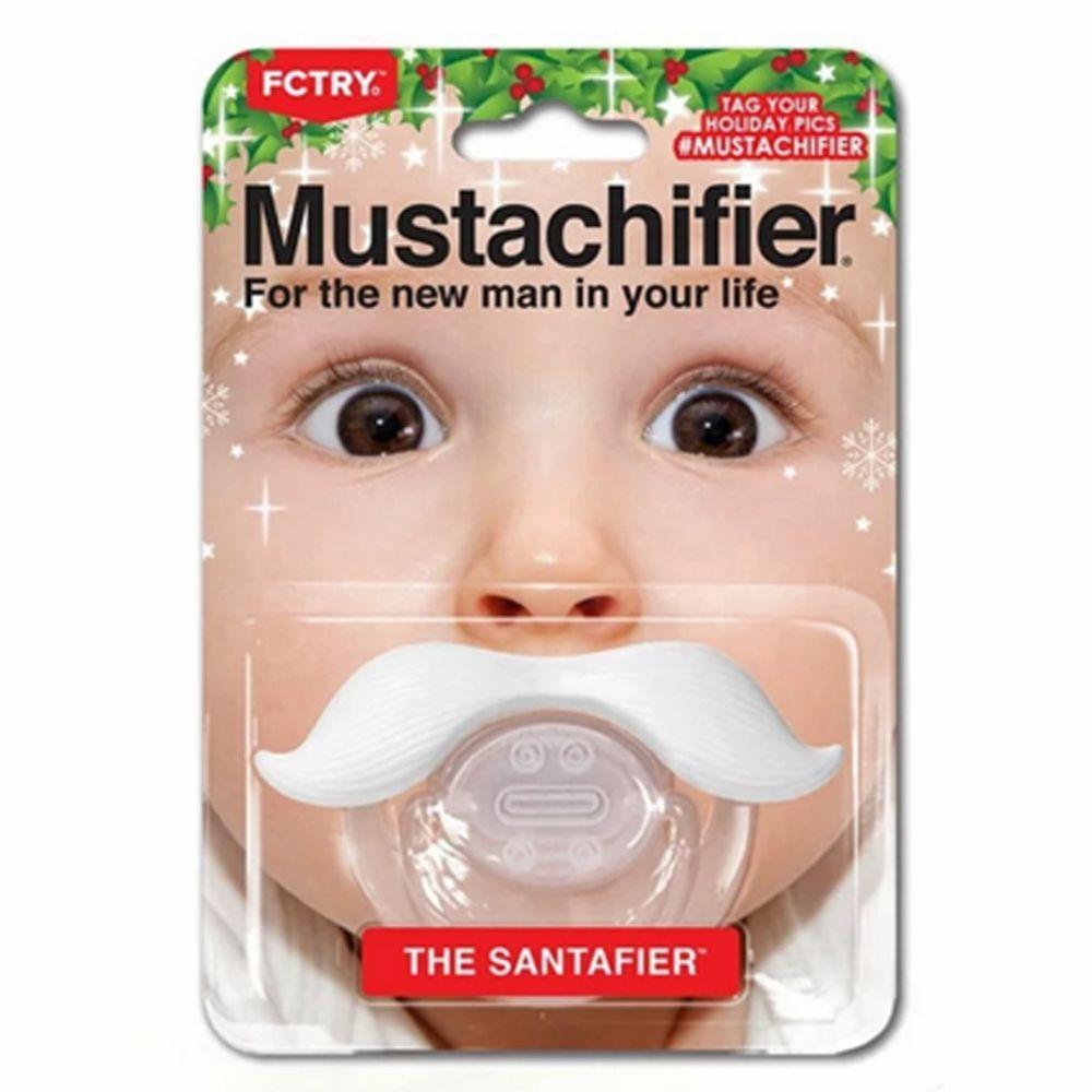 Hipsterkid - 聖誕老公公鬍子嬰兒奶嘴 (單一尺寸)