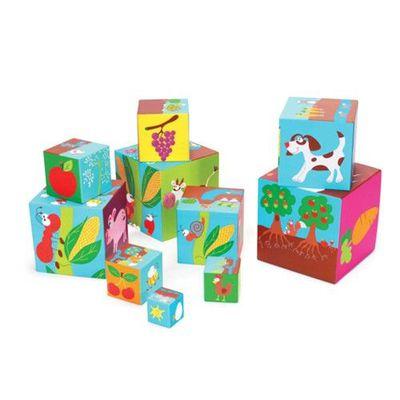 拼圖方塊盒-可愛農場-10個方塊盒