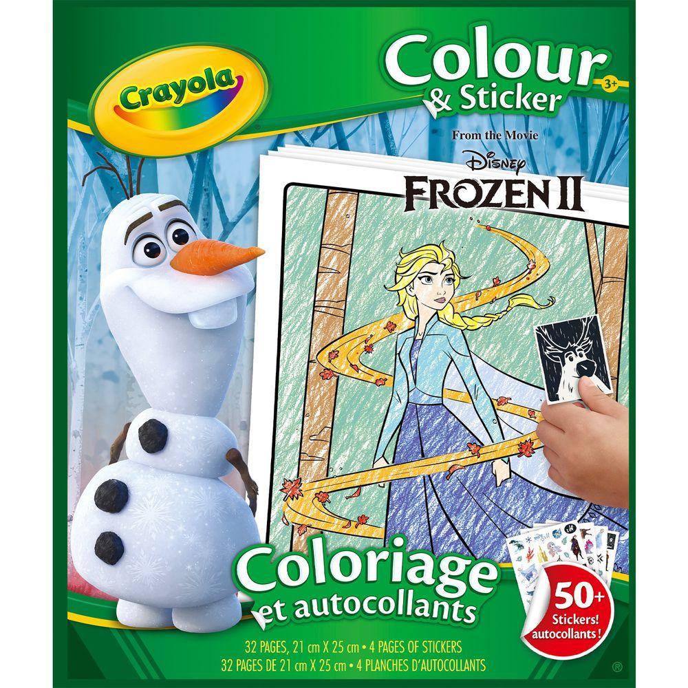 Crayola繪兒樂 - 冰雪奇緣2貼紙著色本