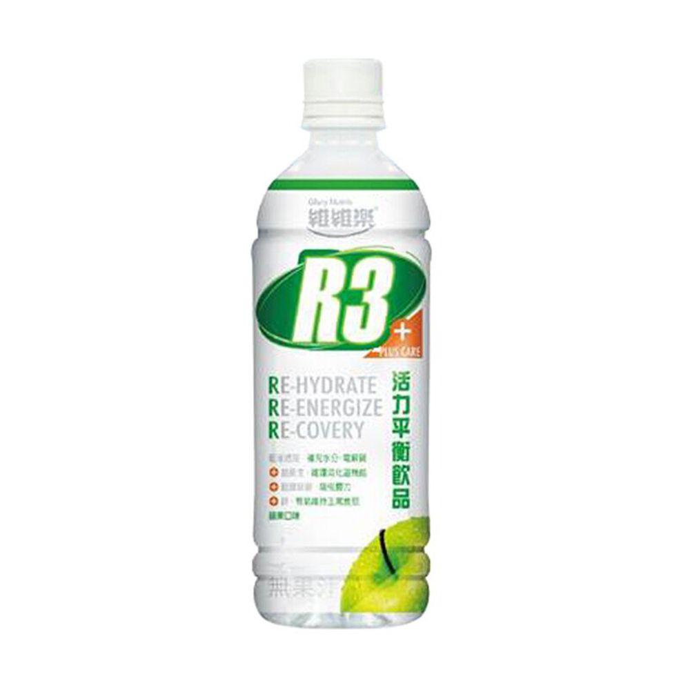 維維樂 - 維維樂R3活力平衡飲品(蘋果)-500毫升/瓶