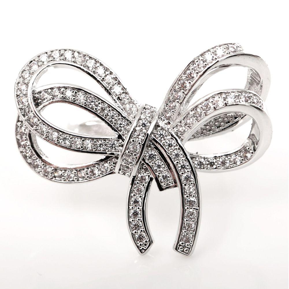 美國ILG鑽飾 - Gift-禮物-活動戒圍設計-頂級美國ILG鑽飾,媲美真鑽亮度的鑽飾-加贈高級珠寶級絨布盒1個-外國抗敏材質電鍍頂級白K金色 (活動戒圍)