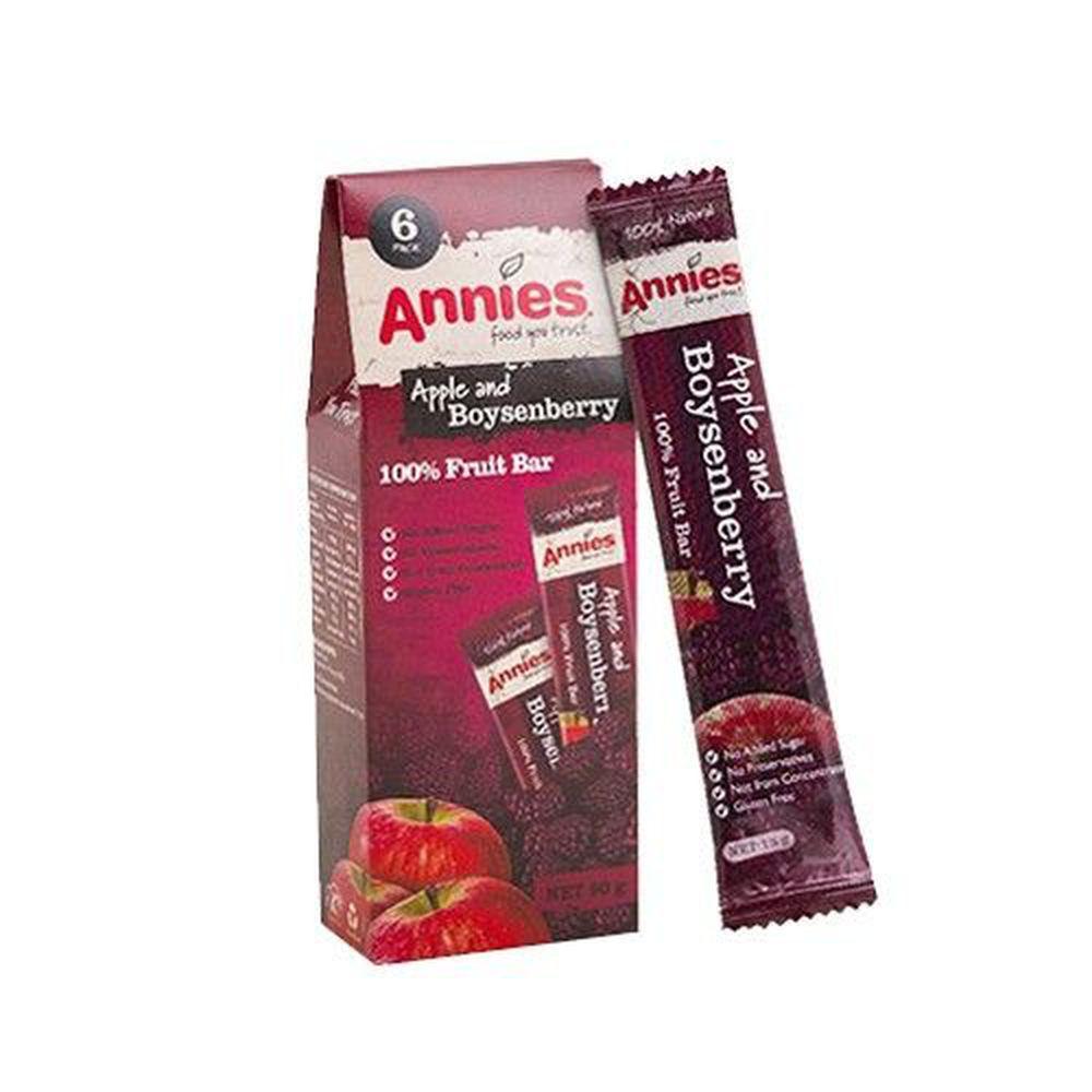 壽滿趣 - 紐西蘭Annies 全天然水果條-波森莓-效期 2022.03.06 (15gm,6片裝)