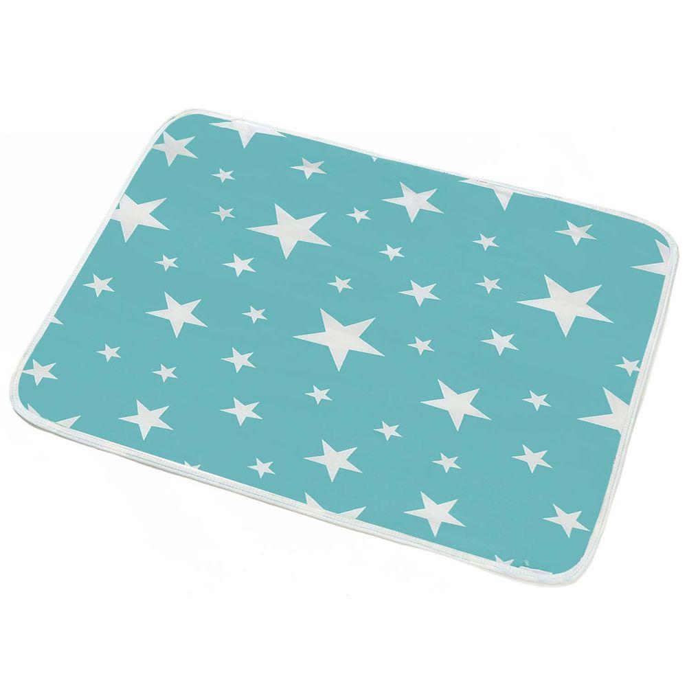 防水隔尿墊-綠色星星 (50*70cm)