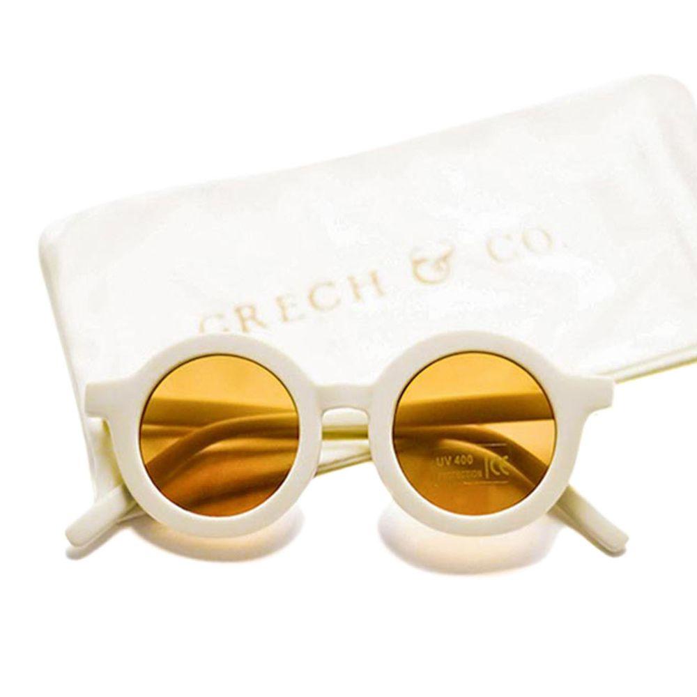 丹麥GRECH&CO - 兒童太陽眼鏡-經典款-奶茶-18個月至6歲