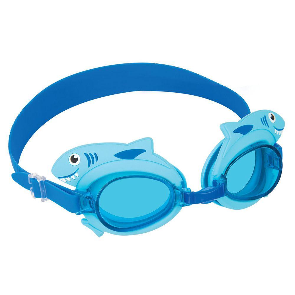 澳洲Sunnylife - 造型抗UV防曬防霧兒童泳鏡-鯊魚 (3-9歲)