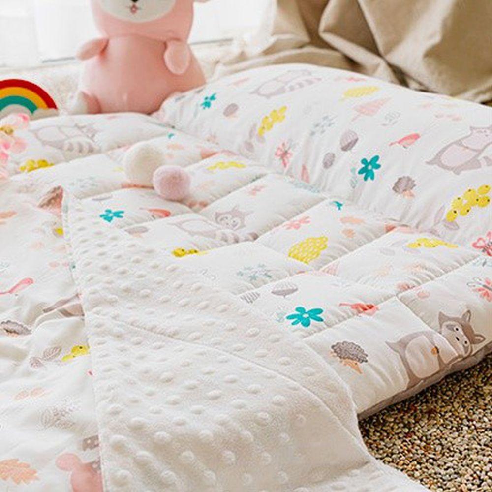 韓國 Formongde - 5cm厚墊雙面用睡袋/寢具(附收納袋)-狸貓花園