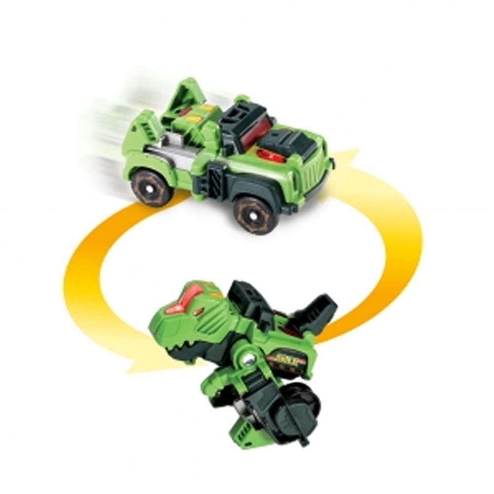 Vtech - 聲光變形恐龍車-霸王龍-魔爪