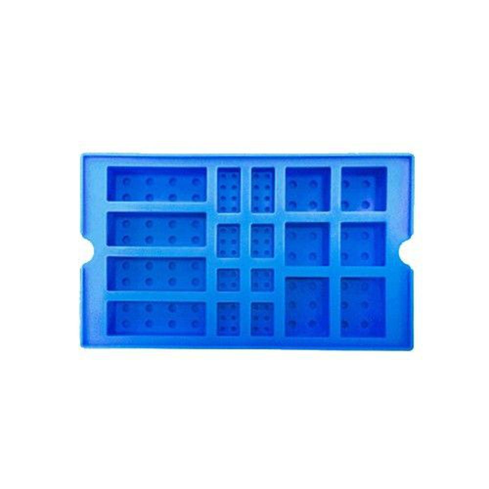 韓國 OXFORD - 樂高積木DIY模具-藍色