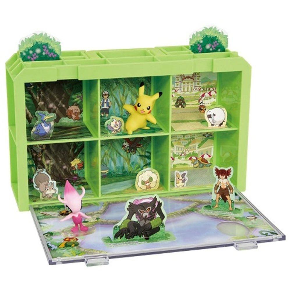 寶可夢 Pokemon - 寶可夢劇場版-可可 場景收納盒